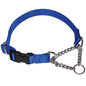 Nylon Martingale Chain with Quick Snap Release